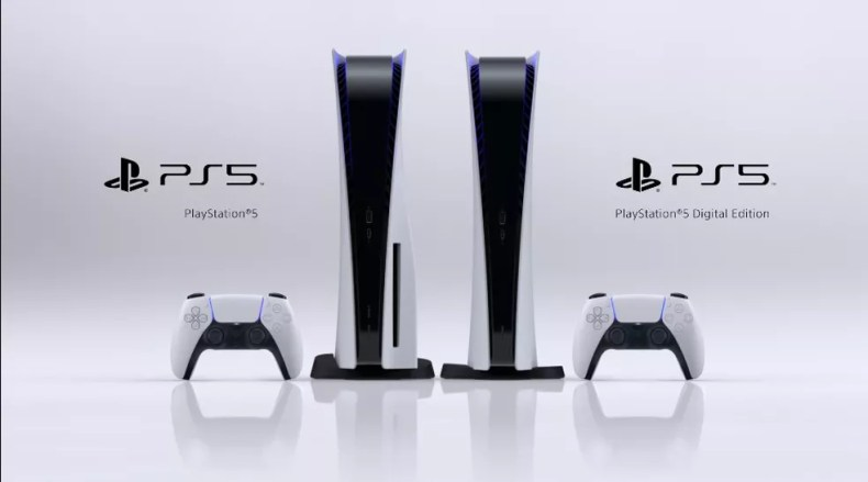 PS5 dois modelos — Foto: Reprodução/Sony