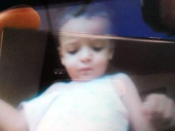 Corpo da criança foi encontrado em canavial de Tangará da Serra. (Foto: Marcelo Souza/ TV Centro América)