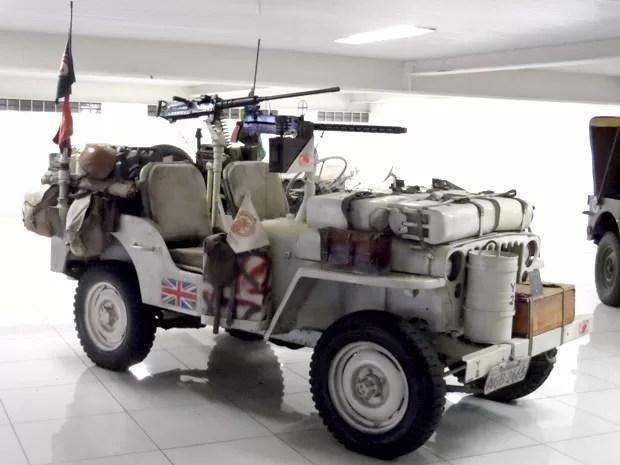 Shopping Portal recebe exposição de jipes da 2ª Guerra (Foto: Divulgação/ Shopping Portal)