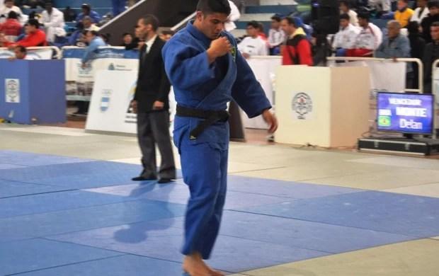delan monte, judoca paraibano, judô, sul-americano sub-21 (Foto: Divulgação / CBJ)