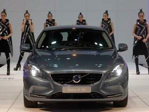 Volvo V40  (Foto: Chaiwat Subprasom/Reuters)