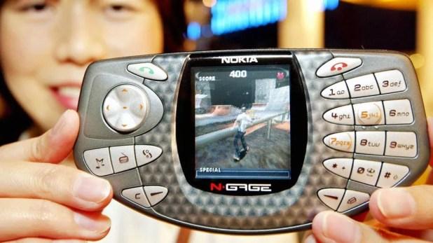 N-Gage foi um celular da Nokia voltado para games (Foto: Reprodução/Betech)