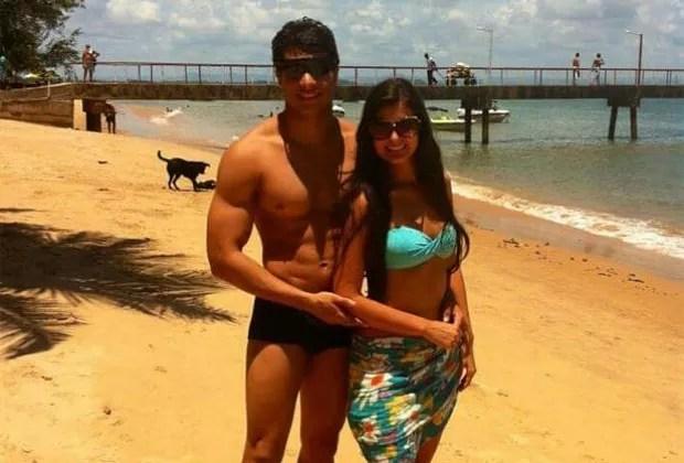 Gabriela Viegas e o noivo, o consultor fitness Lucas Ferrara (Foto: Reprodução/Instagram)