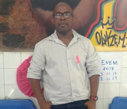 George Roque atua como gestor administrativo do Instituto Steve Biko (Foto: Arquivo Pessoal )