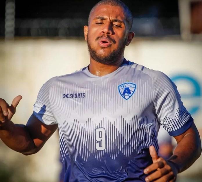 Felipinho esteve no Atlético-PB em 2019 e 2020 e lá foi treinado pelo técnico Ederson Araújo — Foto: Gabriela Sávio / Atlético-PB