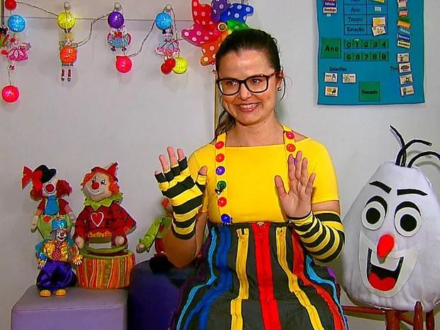 Jana Galdi descobriu aos 12 anos que tinha talento para o cômico (Foto: Reprodução/EPTV)