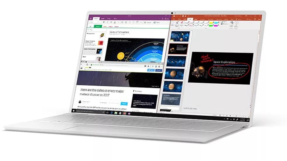 Windows 10 S promete rapidez em notebooks simples (Foto: (Foto: Divulgação/Microsoft))