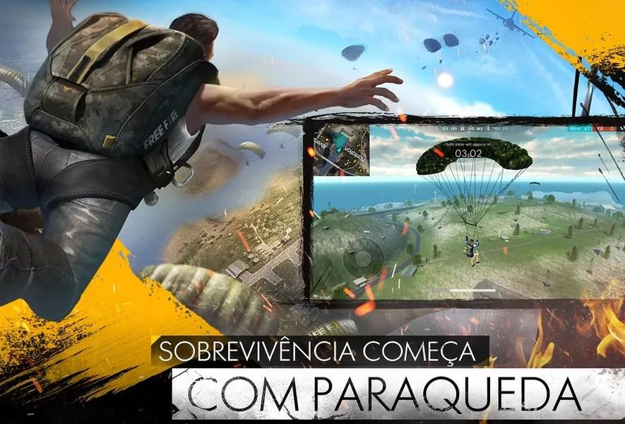 Free Fire Battlegrounds Jogos Download TechTudo