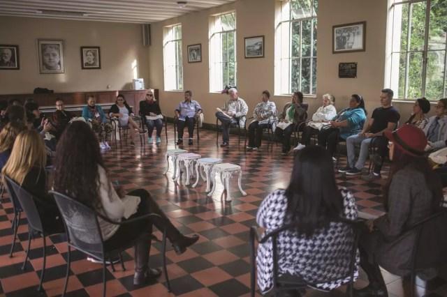 Encontro de familiares de pessoas desaparecidas realizado em São Paulo pelo Comitê Internacional da Cruz Vermelha (CICV)  — Foto: Victor Moriyama/CICV
