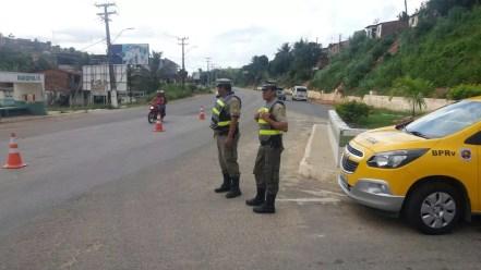 Estradas estaduais foram cenários de menos acidentes no carnaval 2018 (Foto: Polícia Militar/Divulgação)