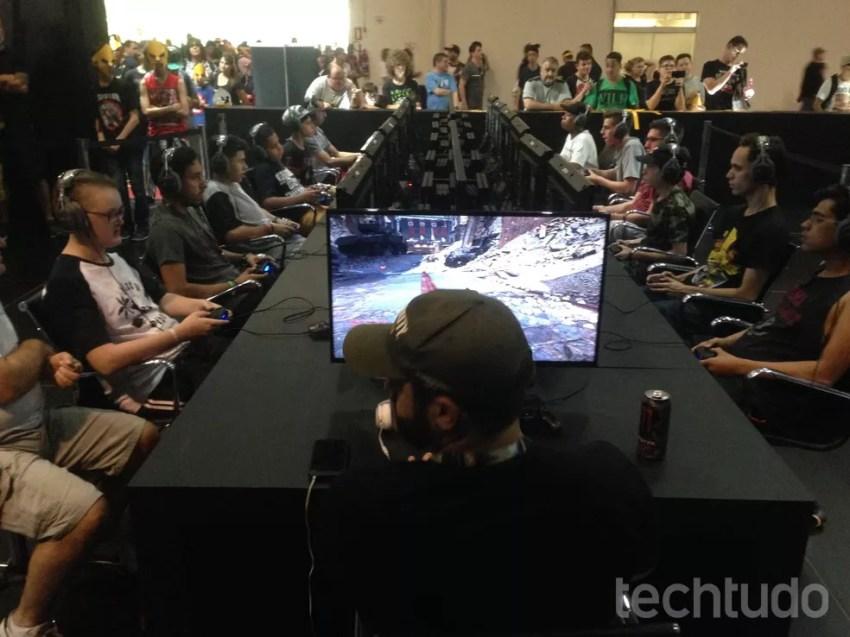 Mais Call of Duty na BGS (Foto: Felipe Vinha/TechTudo)