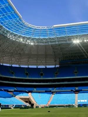 grêmio arena arena do grêmio (Foto: Wesley Santos/Divulgação)