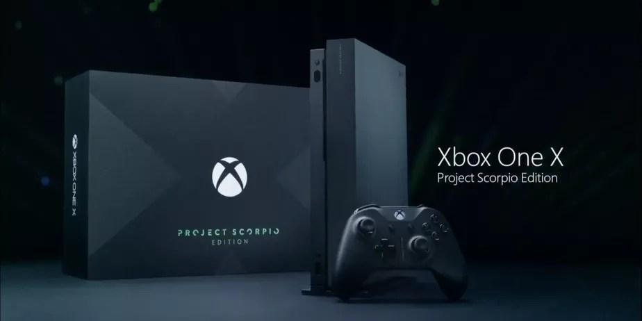 Xbox One X Project Scorpio A Edio Especial Do Console