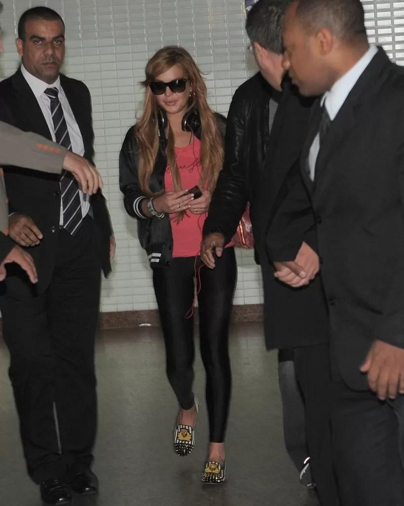 Lindsay Lohan (Foto: Francisco Cepeda e Leo Franco / Ag. News)