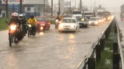 Fenômeno favorece ocorrência de chuvas em áreas no Litoral, incluindo João Pessoa e Região Metropolitana — Foto: Walter Paparazzo/G1/Arquivo