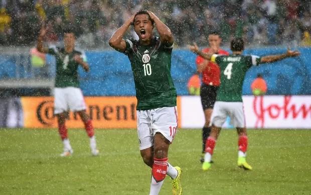 Giovani Dos Santos mexico x camarões arena dunas   (Foto: Getty Images)
