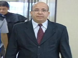 Juiz aposentado, Leopoldo Teixeira (Foto: Reprodução/ TV Gazeta)