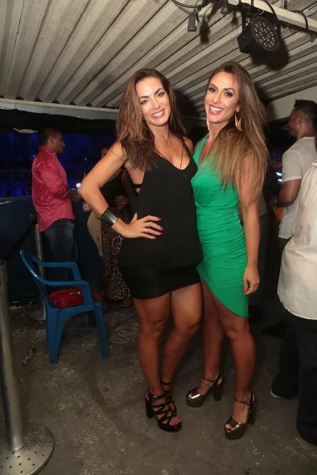 Carla Prata e Nicole Bahls (Foto: Reginaldo Teixeira/Divulgação)