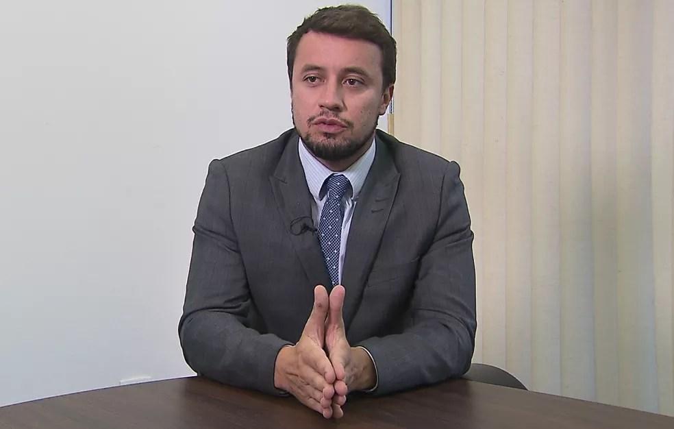'Ao final da investigação, se concluiu que essas modificações se amparavam em pagamento de vantagens indevidas', afirma o procurador da República, Diogo Castor  — Foto: Reprodução/RPC