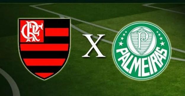 Resultado de imagem para Logo de Fla x Palmeiras