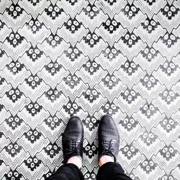 Pisos de Paris (Foto: Sebastian Erras / Instagram / Re)