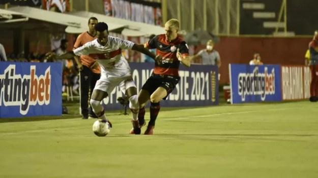 Vitória 1 x 1 CRB; Copa do Nordeste
