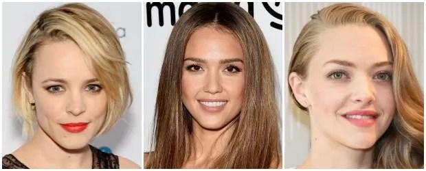 Rachel McAdams, de 37 anos, Jessica Alba, de 34, e Amanda Seyfried, de 30 (Foto: Getty Images)