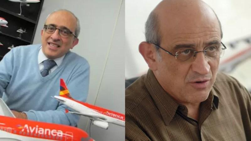 Empresários José (à esquerda) e German Efromovich, donos da Avianca Holding — Foto: Darlan Alvarenga/G1 e Niels Andreas/Agência Estado