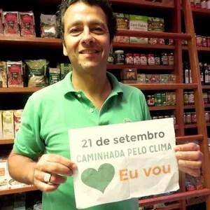 O ator Marcos Palmeira participa de campanha pelo clima (Foto: Divulgação)