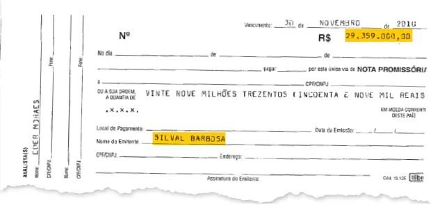 RAZÕES PARA RIR O ministro da Justiça, José Eduardo Cardozo, em momento de descontração com Silval Barbosa. No inquérito, há indícios de que Silval Barbosa recebeu dinheiro do esquema (documento acima) (Foto: Reprodução)