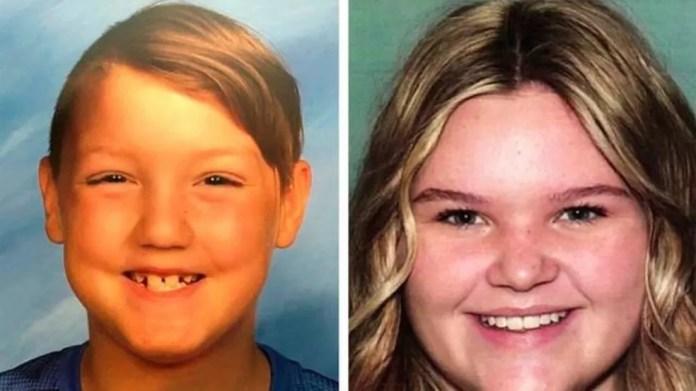 Os dois filhos (na foto) eram de dois casamentos anteriores de Lori Vallow — Foto: Departamento de Polícia de Kauai/BBC