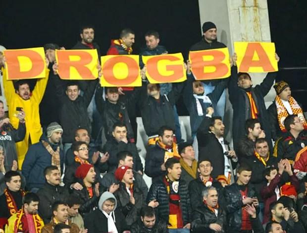Drogba estreia pelo Galatasaray (Foto: Divulgação)
