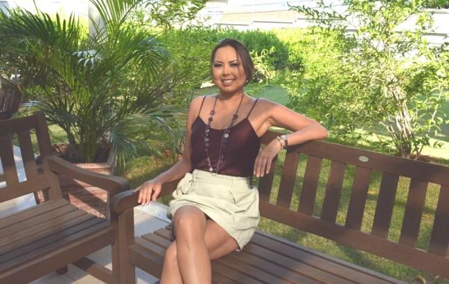 Aline Wega, miss Campinas 2004, superou dois cânceres, um transplante e infarto (Foto: Letícia Baptista/G1)