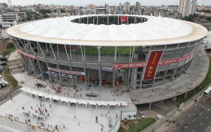 Cursos grauitos serão oferecidos na Arena Fonte Nova, em Salvador. (Foto: Divulgação )