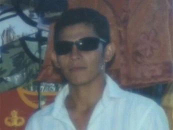 O auxiliar Antônio de Araújo em foto da família (Foto: Arquivo pessoal)