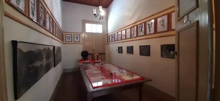 Interior do Museu Fazenda Bom Jardim