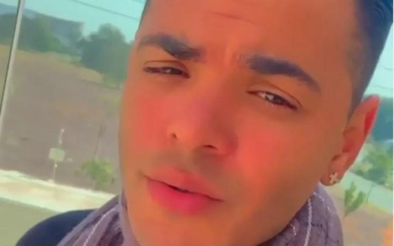Suspeito é um músico, identificado como João Lima — Foto: Reprodução/Redes Sociais