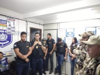 Operação Fulnio-ô da Polícia Civil de Pernambuco cumpre 30 mandados no sertão (Foto: Divulgação/ Polícia Civil de Pernambuco)