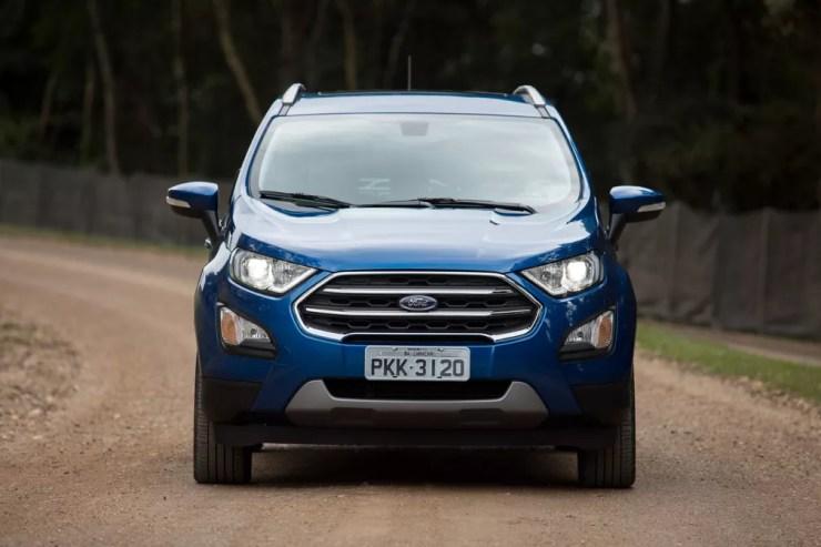 Ford EcoSport 2.0 Titanium 2018 (Foto: Marcelo Brandt/G1)