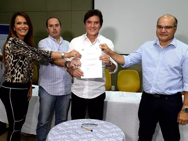Verba vem de convênios assinados pelo governador, em Mossoró, em março passado (Foto: João Vital)