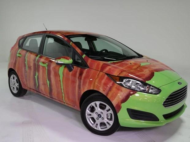 Ford Fiesta tem opção nos EUA de kit bacon em quatro versões (Foto: Divulgação)