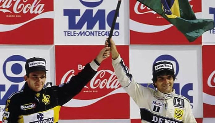 Há 30 anos: Piquet, Senna e a bandeira | Blog Voando Baixo |  Globoesporte.com