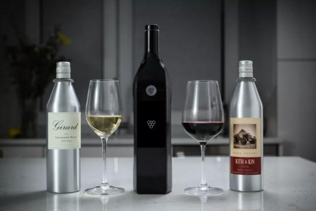 Garrafa de vinho inteligente faz o último gole ser igual ao primeiro (Foto: Divulgação/Indiegogo)