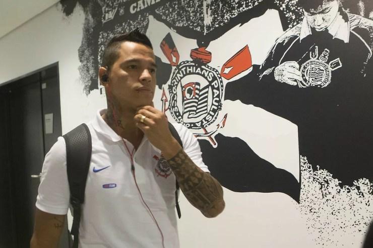 Giovanni Augusto chegou ao Corinthians em 2016 — Foto: Daniel Augusto Jr/Ag. Corinthians