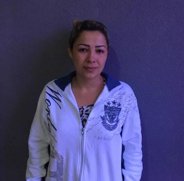 Cléia Rosa dos Santos, de 35 anos, foi presa neste sábado (24) (Foto: Polícia Civil/Divulgação)