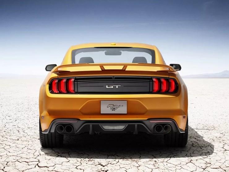 Mustang serviu de inspiração para o futuro SUV elétrico — Foto: Divulgação