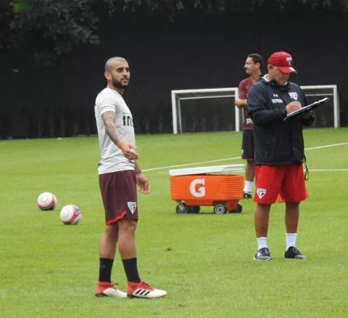 Liziero está perto de renovar com o São Paulo (Foto: São Paulo FC)