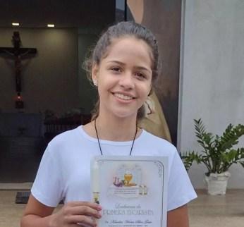 Karoline Vitoria Gesso está desaparecida desde essa terça-feira (11) — Foto: Facebook/Reprodução
