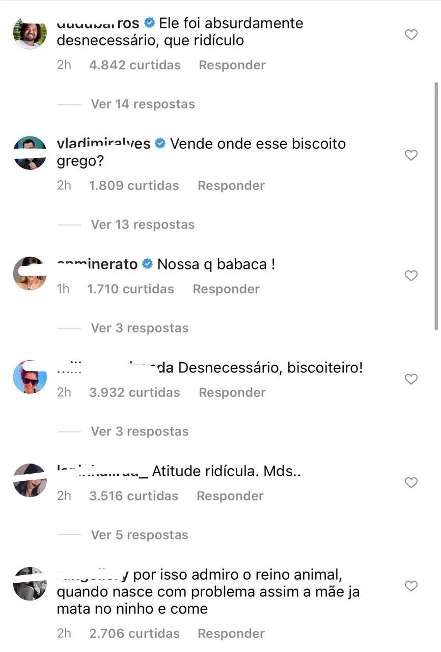 Após expor affair com Juliette, Alê Oliveira é criticado (Foto: Reprodução/Instagram)