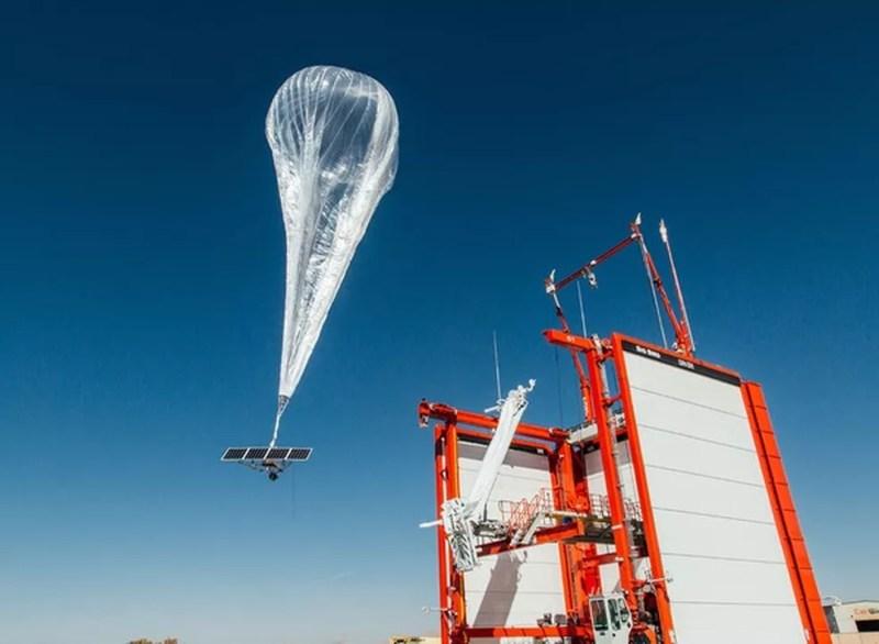 Balão satélite que caiu em fazenda de Paraíso das Águas (MS). — Foto: Loon/Divulgação